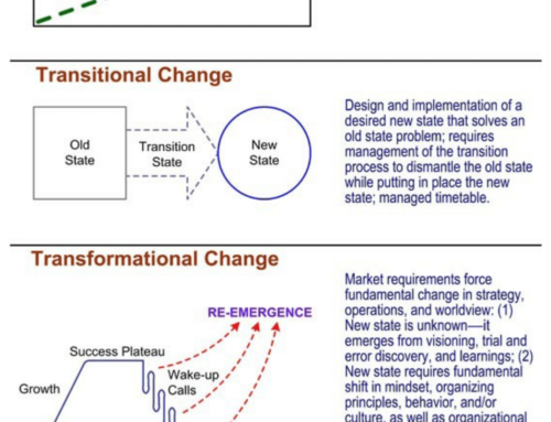 Three Types of Change that Occur in Organizations Info Sheet